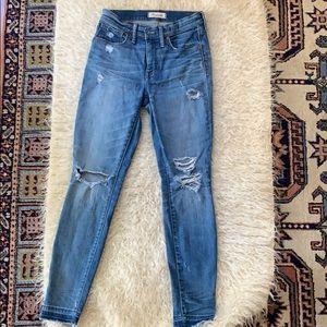 """Sale ❤️ Madewell 9"""" skinny high waisted jean s.27"""